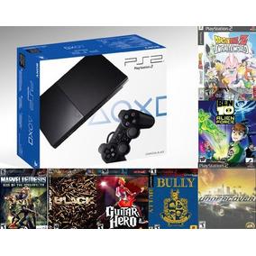 Playstation 2 + 15 Jogos + 2 Controles + Memory Card +brinds