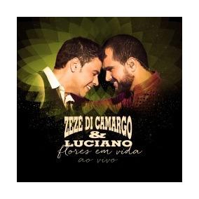 Cd Zezé Di Camargo & Luciano - Flores Em Vida: Ao Vivo (2 C