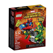 Lego Super Heroes 76071 Mighty Micros:spider-man Vs.scorpion
