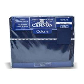 Sábanas Cannon Colors Queen Percal Colchón 160cm