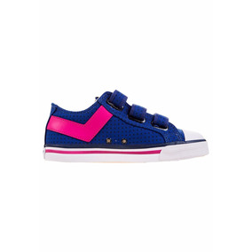 Zapatillas Pony Shooter Low Cvs Ve Kids Oferta Liquidac Azul