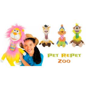 Bichos De Pelúcia Pet Repet Repete A Fala 4 Modelos Dtc