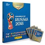 Álbum Da Copa Do Mundo Rússia 2018(capa Dura + 60 Figurinhas