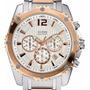 Reloj Guess Hombre W0165g2 Cronógrafo Rose Original 100%