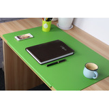 Lohome Desk Pads Artificial Leather Laptop Mat With -verde