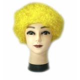 Peluca Afro Amarilla, Disfraces, Hora Loca, Carnaval