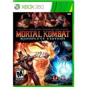 Mortal Kombat ( Komplete Edition ) Xbox 360 - Mídia Física