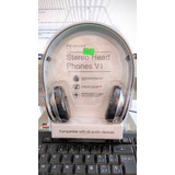Audifonos De Diadema Stereo Head Phones V1