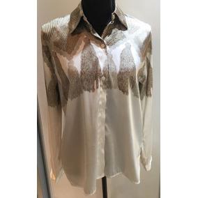 Camisa De Seda Con Diseño