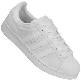 342683062f95d Tenis Feminino Adidas Superstar Tamanho 35 - Tênis 35 no Mercado ...