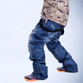 Pantalon Snowboard Simil Jardinero Jean