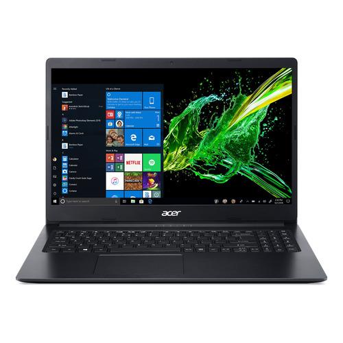 """Notebook Acer A315-22 negra 15.6"""", AMD A4-Series 9120E  4GB de RAM 500GB HDD, AMD Radeon M4 1366x768px Windows 10 Home"""