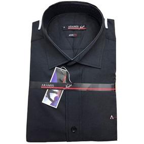 222e00095d4fd Camisa Branca Aramis - Camisas Preto no Mercado Livre Brasil