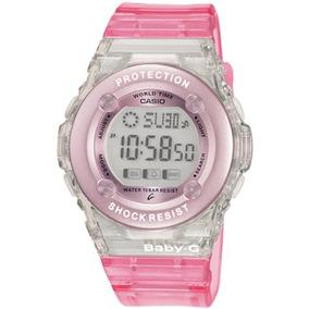 Casio Womens Bg1302-4 Baby-g Urban Style Jelly Watch