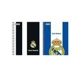 Caderno Espiral Univer 96 Fls Real Madrid 902081