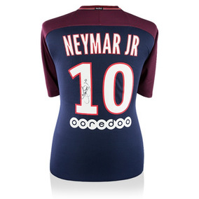 Neymar Jr Playera Firmada Del Psg