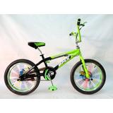 Bicicleta Bmx Freestyle De Aluminio Aro 20 F-disco ¡nuevas!