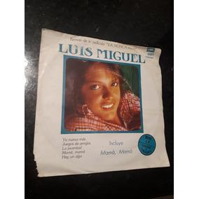 Luis Miguel Ya Nunca Mas 1983 Disco Vinilo Simple