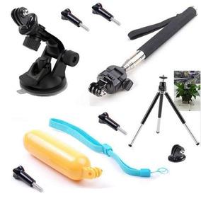 Sports Action Camera Acessorios Kit Go Pro Hero 2 3+ 3 4 5