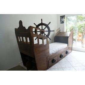 Cama de barco todo para tu dormitorio en mercado libre - Cama barco pirata ...