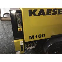 Compresor Portatil Kaeser M100 Capacidad 375pcm Motor Kubota