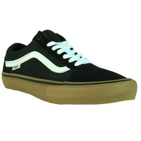 T Nis Vans Old Skool Pro Black White Red - Calçados d625ab7f362d5