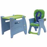 Baby Kits - Silla De Comer Bebe Carpeta 2 En 1 - Verde
