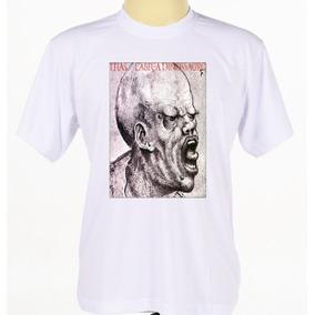 Camiseta Camisa Banda De Rock Titãs Cabeça Dinossauro
