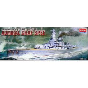 Navio Admiral Graf Spee Academy 1/350 Tipo Revell E Tamiya