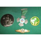 Condec. Antigua Piochas Y Medallas Carabineros De Chile