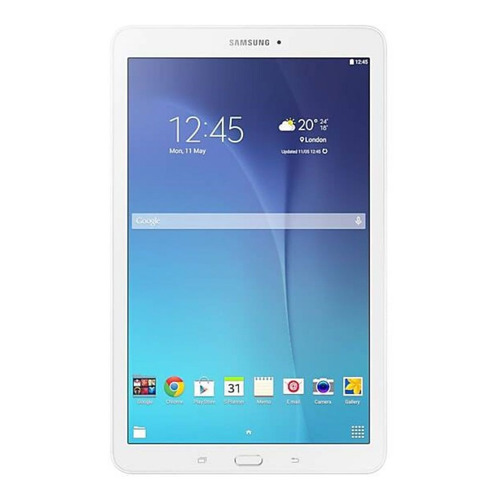 "Tablet  Samsung Galaxy Tab E 2015 SM-T560 9.6"" 8GB white con memoria RAM 1.5GB"
