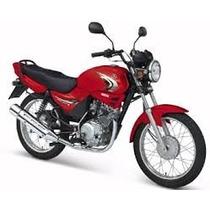 Tanque Combustível Yamaha Ybr 125+kit Carenagens Vermelho