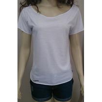 Camiseta Mullet Branca Em Tecido Poliéster Para Sublimação