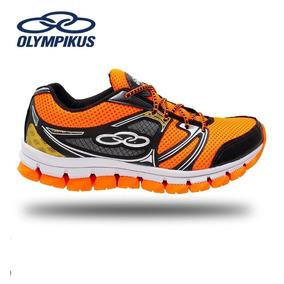 335e313562 Tenis Sola Preta Olympikus - Olympikus para Masculino Laranja no ...