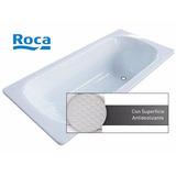 Bañera Roca Chapa Enlozada Sacha 150x70 Blanco Antideslizant