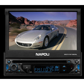Dvd Retratil Napoli 7977 Bluetooth Tv Digital