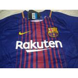 Camisa Do Barcelona Home 17/18 - Nova