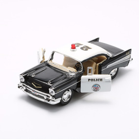 Miniatura Kinsmart Chevrolet Bel Air 1957 Police 1/40
