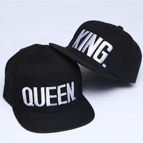 c2ffc11120 Bon Aba Reta Com Escrita Queen E Outro King - Acessórios da Moda no ...