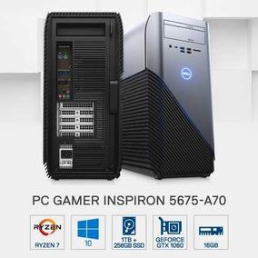 Pc Gamer Dell 5675-a70 Amd R7 16gb 1tb+256gb Gtx1060