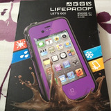 Funda Sumergible Antigolpes Nieve Lifeproof Iphone 4 4s