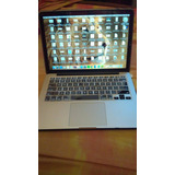 Macbook Pro Retina 13 · 128gb · Ram: 8gb | No Hago Cammbios