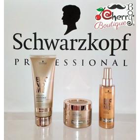 Kit De 3 Tratamientos Schwarzkopf Blondme Todos Los Rubios