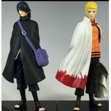 Naruto Hokage Y Sasuke Figuras Coleccionables