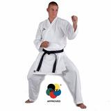 Kimono Karate Kumite Kwon Wkf C/ Faixa 2,00cm adidas Arawasa