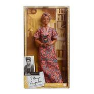 Barbie Inspiring Women Maya Angelou 2021 Escritora Signature