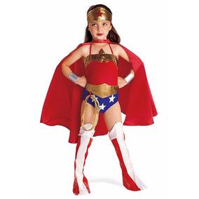 Disfraz Mujer Maravilla Premium Único En Chile Envio Gratis