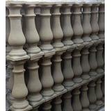 Columnas Balaustres De 50 Cm A $50 Y Barandas De Cemento