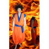 Disfraz De Goku, Dragon Ball Z Adulto