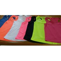 Regata Blusa Roupa Kit5 Feminina Academia Revenda Dryfit